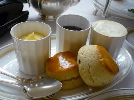 scones ap tea